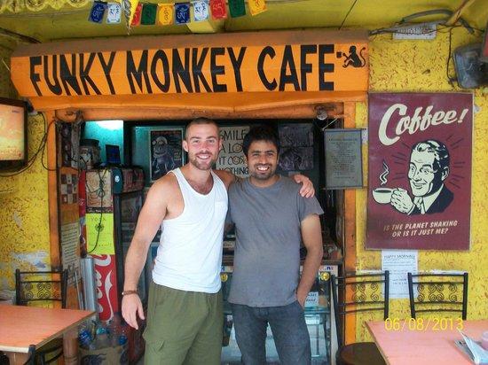 Funky Monkey Cafe Pushkar